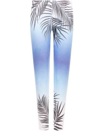 Укороченные брюки с поясом из вискозы Wildfox