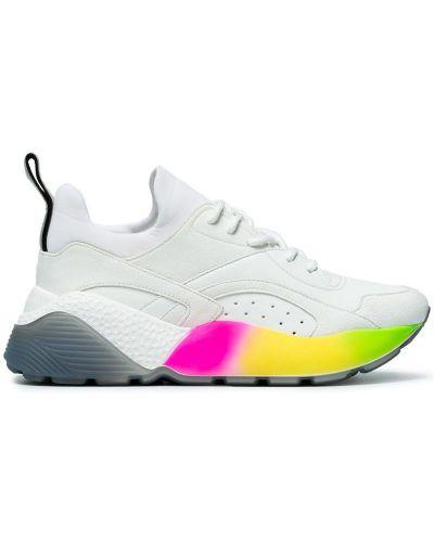 Кроссовки на шнуровке цветные Stella Mccartney