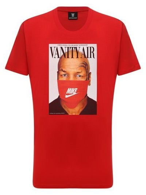 Красная итальянская футболка Diego Venturino
