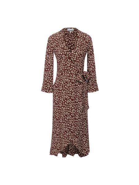 Платье из вискозы Ganni
