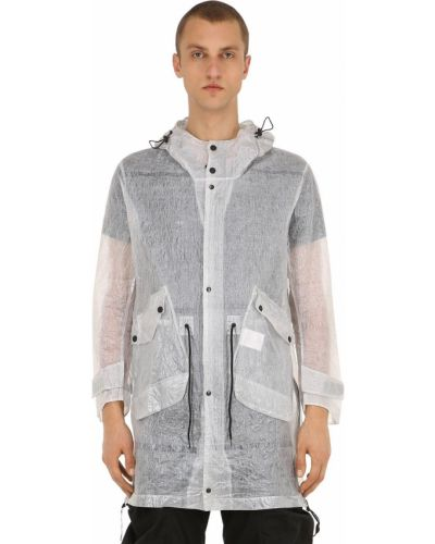 Płaszcz z kapturem kurtka grochowa Nilmance