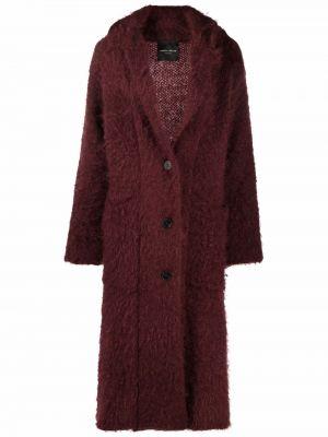 Шерстяное пальто - красное Roberto Collina