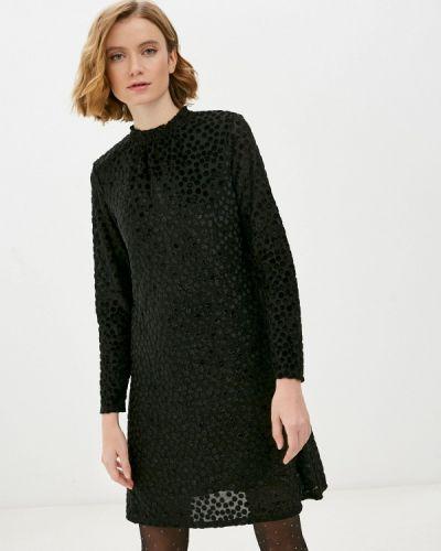 Прямое черное платье Marks & Spencer