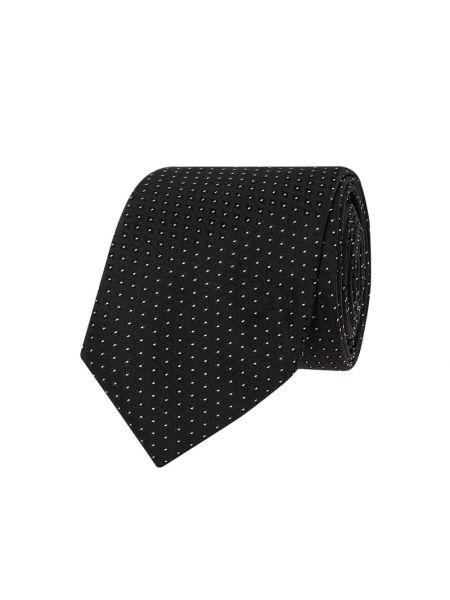Krawat wąskie cięcie, czarny Boss