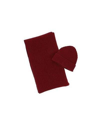 Красная шерстяная шапка Eleventy