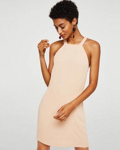 Розовое платье Mango
