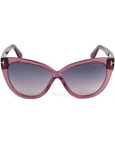 Фиолетовые солнцезащитные очки Tom Ford