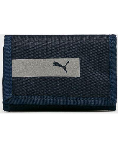 Кошелек темно-синий синий Puma