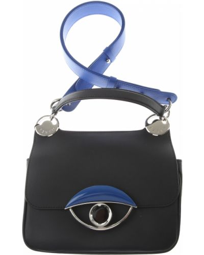 Czarna torebka skórzana Kenzo