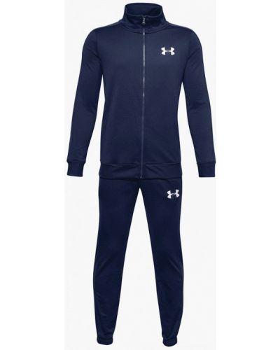 Костюмный синий спортивный костюм Under Armour