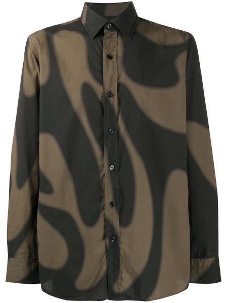 Koszula z długim rękawem klasyczna długa Tom Ford