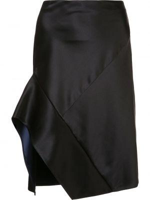 Асимметричная юбка - черная Narciso Rodriguez