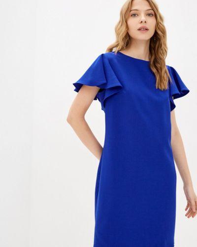 Прямое платье - синее Shovsvaro