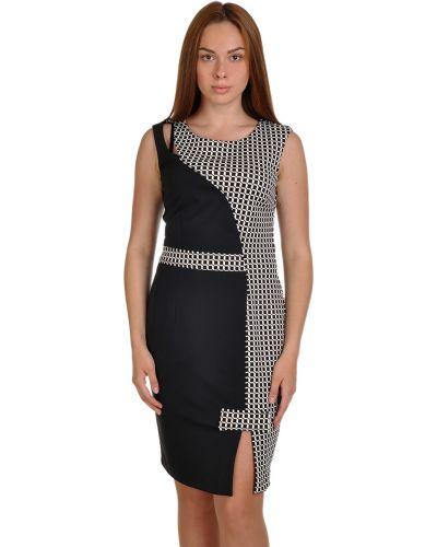 Платье из вискозы - черное Elisa Landri