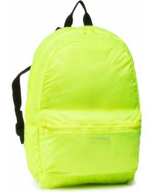 Torba plecak na torbę żółty Superdry