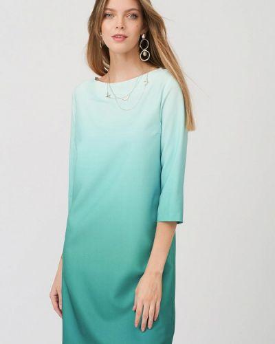 Повседневное зеленое платье Lussotico