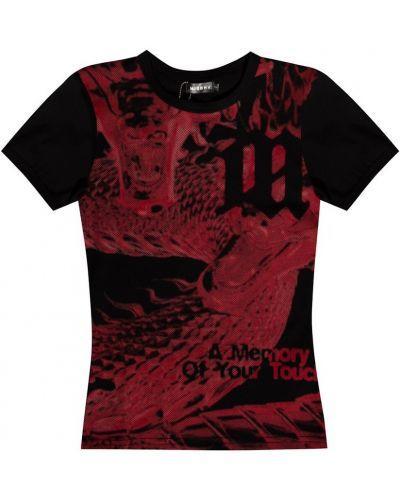 Czarna t-shirt Misbhv