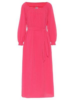 Платье миди розовое модерн Baum Und Pferdgarten