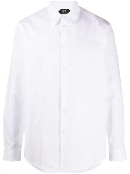 Koszula z długim rękawem z kieszeniami prosto N°21