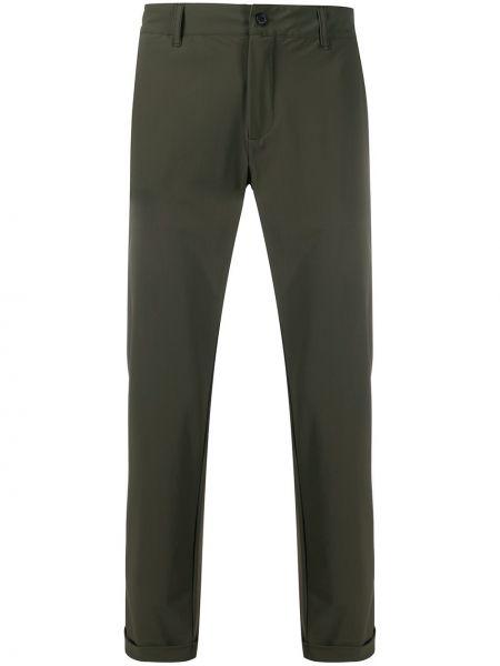 Zielone spodnie z paskiem Hydrogen
