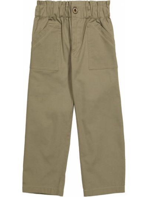 Zielone spodnie bawełniane Paade Mode