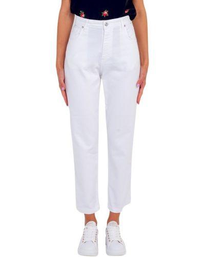 Białe jeansy Marco Bologna