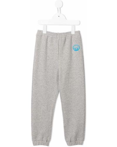 Spodnie bawełniane z printem Gucci Kids