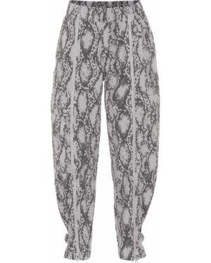 Спортивные брюки для фитнеса кожаные Adidas By Stella Mccartney
