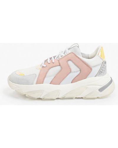 Кожаные кроссовки Roobins