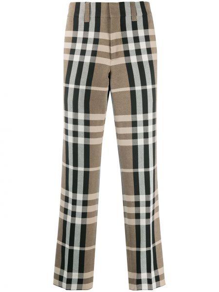 Bawełna bawełna czarny fajki do spodni z kieszeniami Burberry