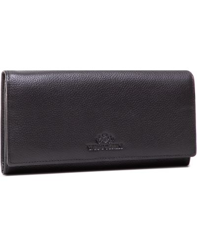 Czarny portfel oversize Wittchen