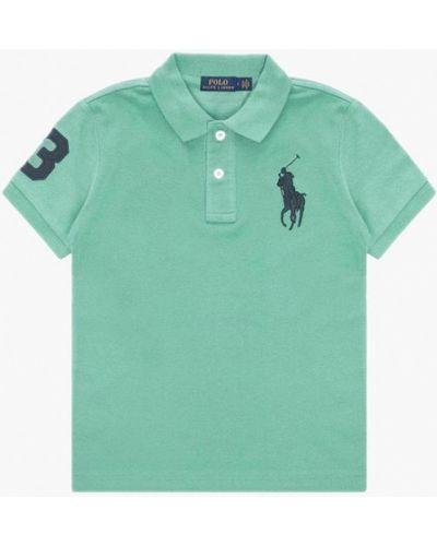 Зеленое поло Polo Ralph Lauren