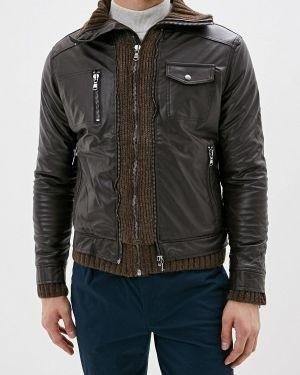 Кожаная куртка - коричневая Whitney