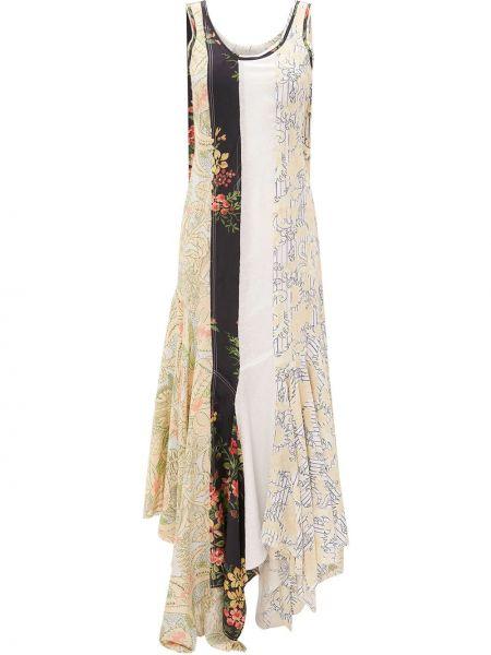 Платье в цветочный принт Jw Anderson