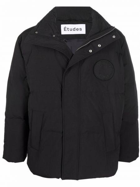 Czarna kurtka Etudes