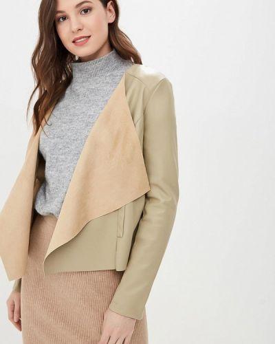 Кожаная куртка - серая Camomilla Italia