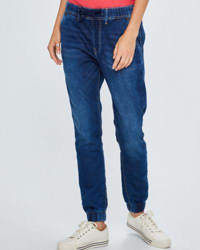 Синие джинсы на резинке Pepe Jeans