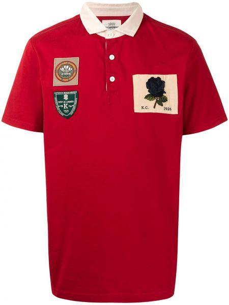 Koszula krótki rękaw bawełniana Kent & Curwen