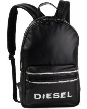 Sport torba plecak na torbę czarna Diesel