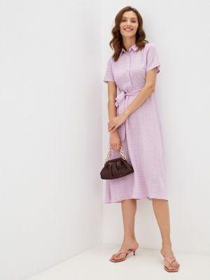 Платье рубашка - фиолетовое Tiffosi