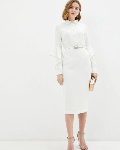 Белое платье-футляр Rich & Naked