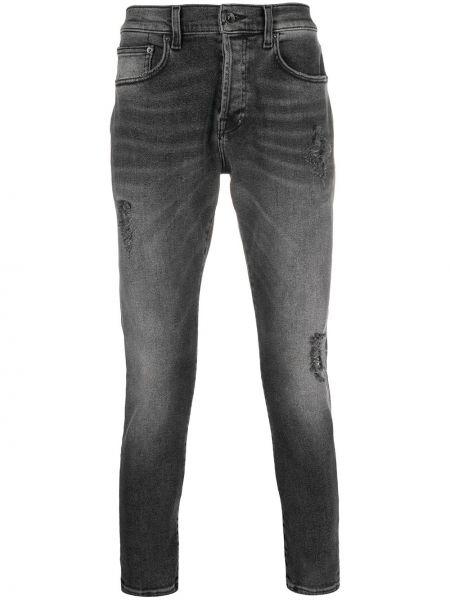 Jeansy bawełniane z paskiem Prps