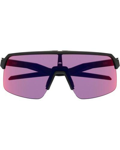 Czarne okulary oversize Oakley