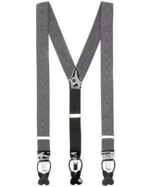 Подтяжки серый металлический Albert Thurston