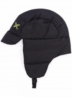 Czarna czapka z nausznikami Kenzo