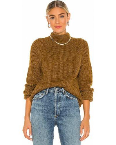 Желтый шерстяной свитер винтажный Cupcakes And Cashmere