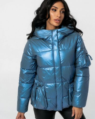Теплая синяя зимняя куртка Whitefox