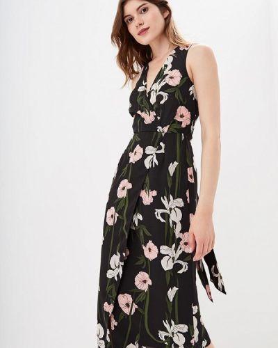 Платье с запахом осеннее Warehouse