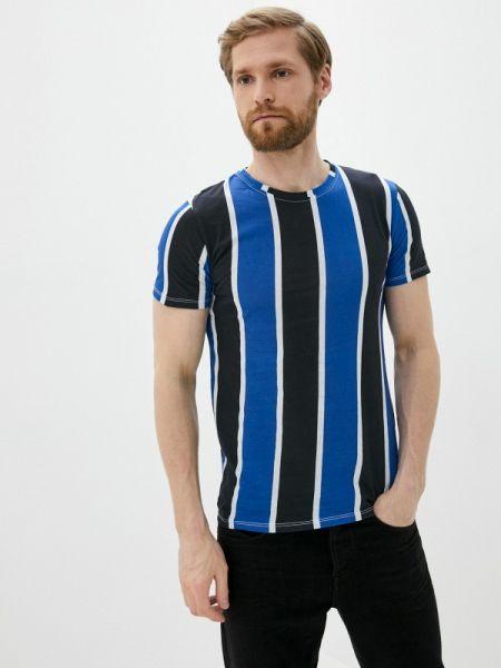 Синяя футболка Aarhon