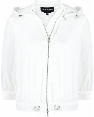 Белая куртка Emporio Armani